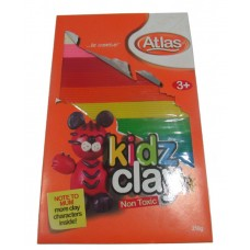 Atlas - Kids Clay - 8 colours