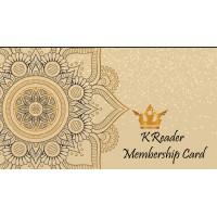 KReader Membership Card
