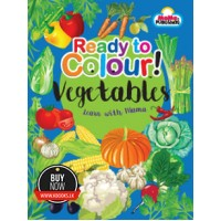 Learn with Mama - Ready to Colour Vegetables