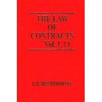 The Law Of Contracts Volume 1 and 2