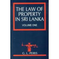 The Law Of Property In Sri Lanka Volume 1