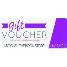 Rs. 1000 Gift Voucher